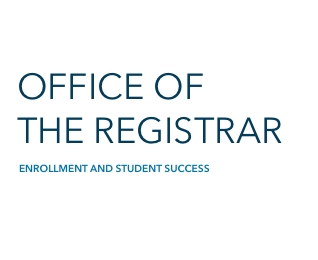 Office of the Registrar | Enrollment and Student Success